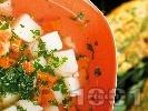Рецепта Картофена чорба с киселец на баба